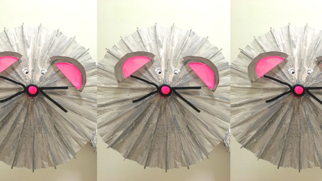 CREATE A 'YEAR OF THE RAT' PARASOL